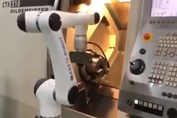 Industrial Automation Machine Tending