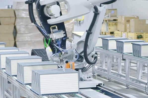 Industrial Automation Gluing
